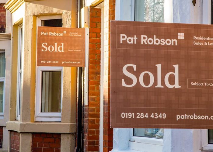Pat Robson sold sign