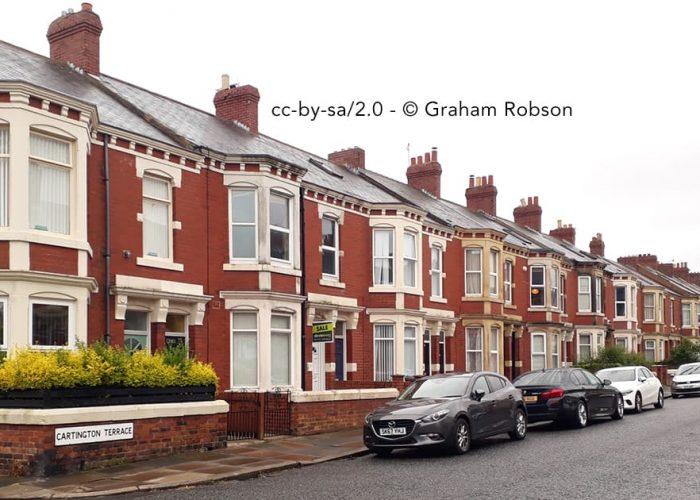 Student houses in Heaton
