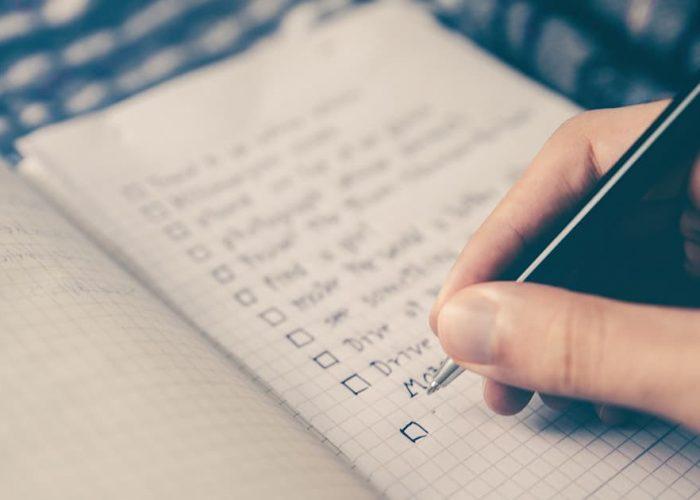 Change of address checklist