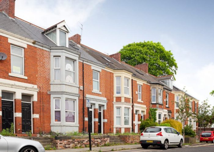 Terraced student housing